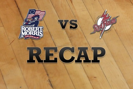 Robert Morris  vs. St. Francis (PA): Recap and Stats