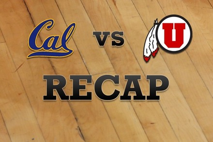 California vs. Utah: Recap and Stats