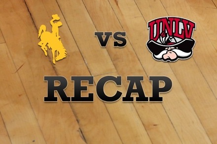 Wyoming vs. UNLV: Recap and Stats