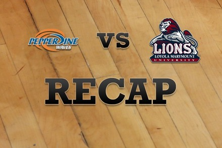 Pepperdine vs. Loyola Marymount: Recap and Stats