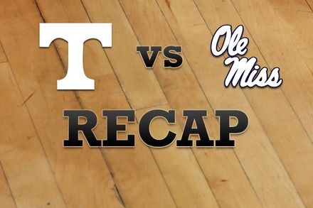Tennessee vs. Mississippi: Recap and Stats