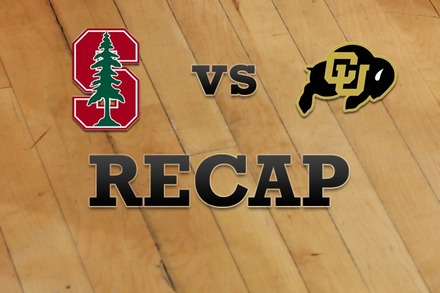 Stanford vs. Colorado: Recap and Stats