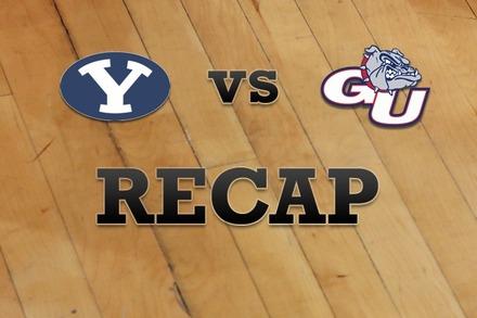 Brigham Young vs. Gonzaga: Recap and Stats