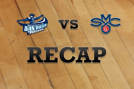 San Diego vs. Saint Mary's: Recap and Stats