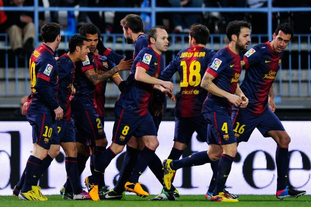 FC Barcelona: Player Ratings from the Cup Triumph at Malaga