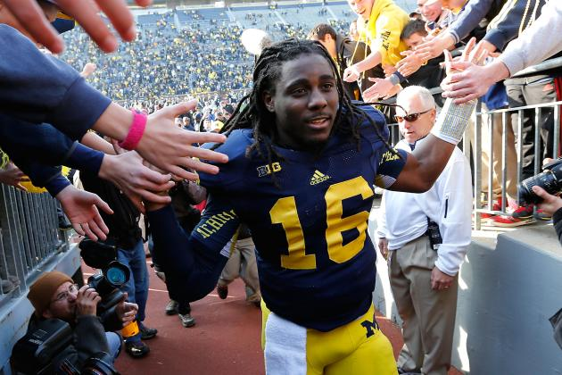 Denard Robinson Senior Bowl: Shoelace Must Have Sensational Showing in Mobile