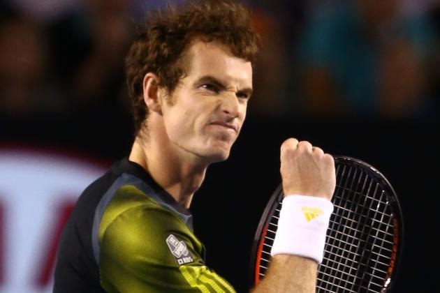 Roger Federer vs. Andy Murray: Live Score, Highlights from 2013 Australian Open