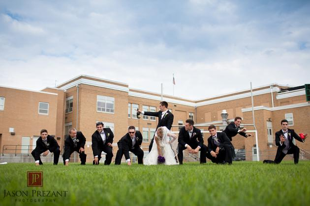 Check out Joe Flacco's Awesome Wedding Picture