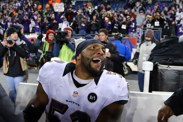 Ray Lewis Won't Let Ravens Touch Lombardi Trophy