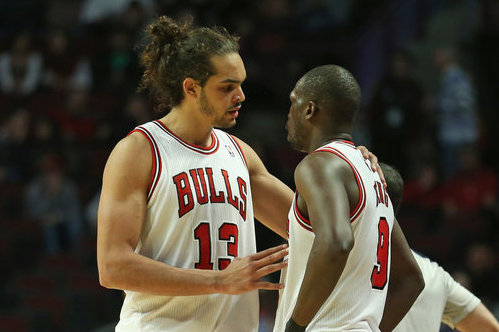 Luol Deng and Joakim Noah Bask in Glow of All-Star Status