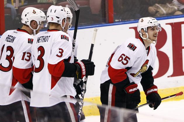 Senators Hold off Panthers for Third Straight Win