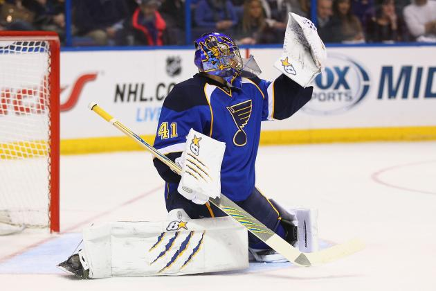 Halak Registers 13-Save Shutout of Predators