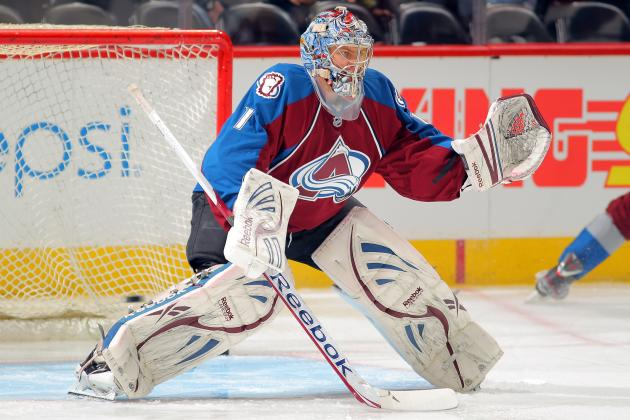 Duchene, Varlamov Lead Avalanche over Jackets