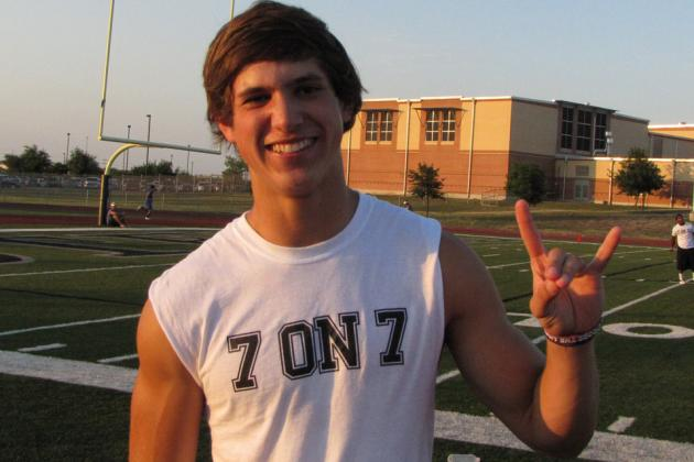 Huhn Remains Solid on Pledge to Longhorns
