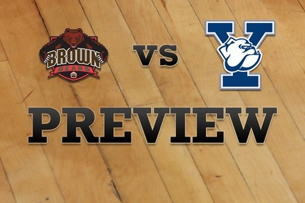 Brown vs. Yale: Full Game Preview