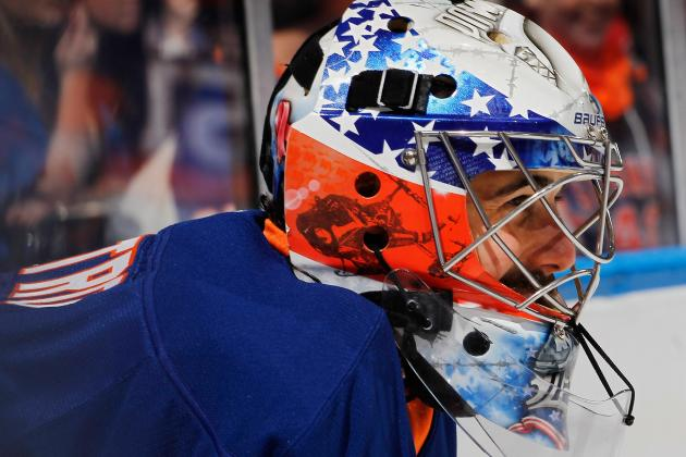 DiPietro Gets Starting Nod Tonight vs. Bruins