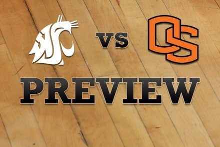 Washington State vs. Oregon State: Full Game Preview