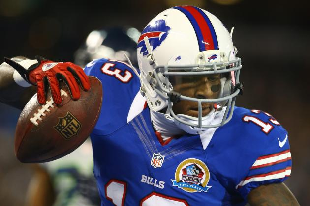 Stevie Johnson to Maintain Freedoms in New Offense