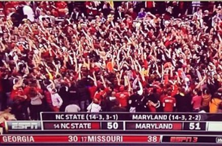 CBS Analyst on Court-Storming Terps Fans: 'Aren't You Embarrassed?'