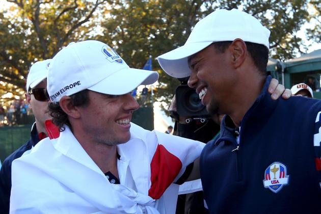 Ballesteros, McIlroy Join Woods on Video Game Cover