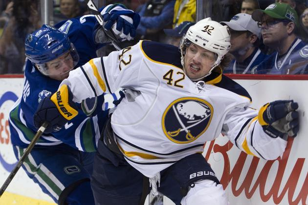 Video: Nathan Gerbe Gets Manhandled by NHL Ref After Hit from Behind