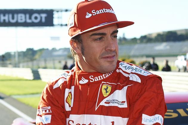 Alonso to Miss First Test of Ferrari's New F1 Car