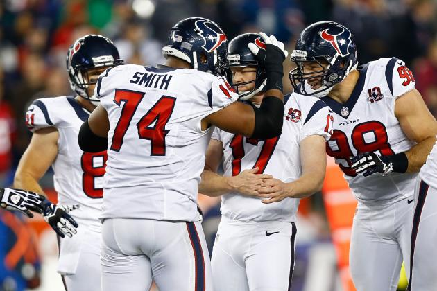 Texans O-Linemen Have Schaub's Back