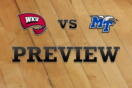 Western Kentucky vs. Middle Tenn State: Full Game Preview