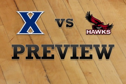 Xavier vs. Saint Joseph's: Full Game Preview