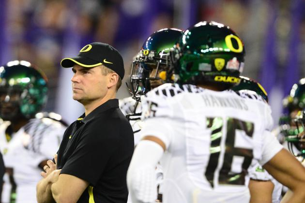 Oregon Ducks Football: Does Mark Helfrich's Contract Raise Some Red Flags?