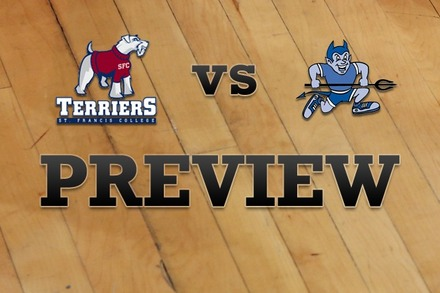 St. Francis (NY) vs. Central Conn. : Full Game Preview