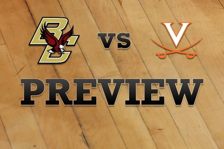 Boston College vs. Virginia: Full Game Preview