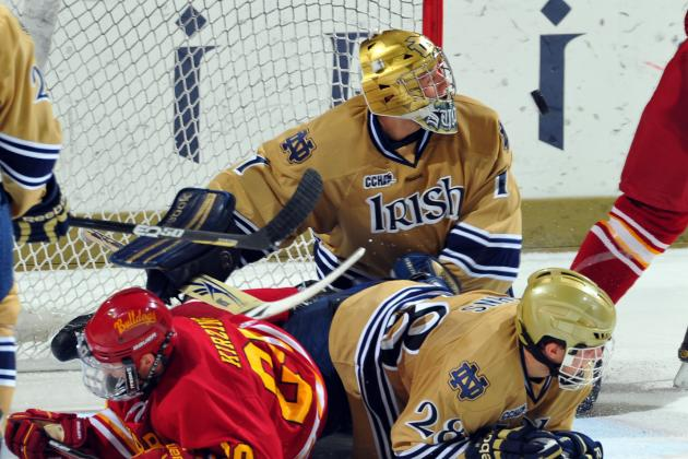 Notre Dame Hockey Seeks to Get Back on Track Against Ferris State