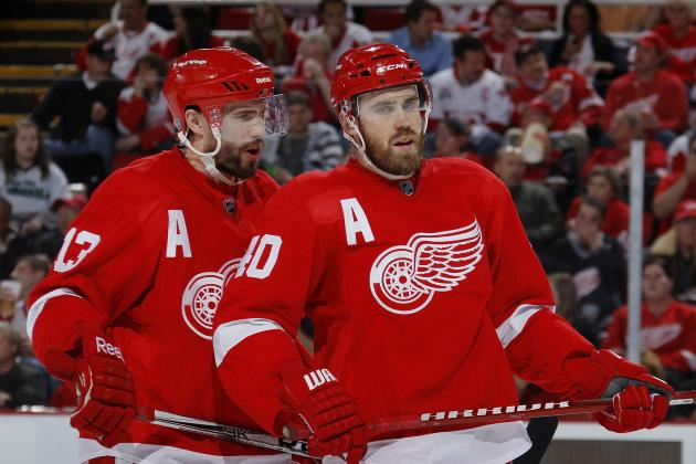 Wings' Pavel Datsyuk, Henrik Zetterberg Won't Be Paired