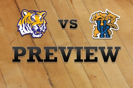 LSU vs. Kentucky: Full Game Preview
