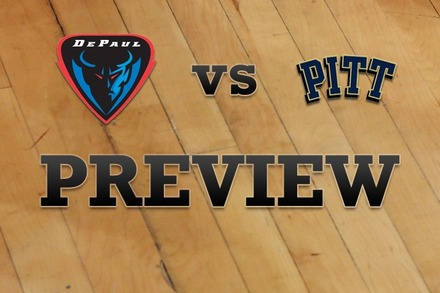DePaul vs. Pittsburgh: Full Game Preview