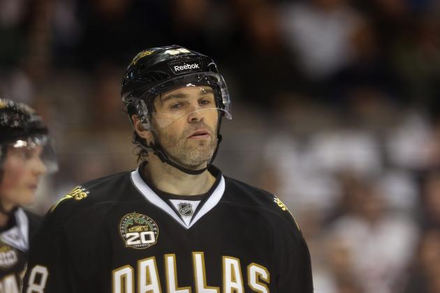 Jagr Questionable for Saturday vs. Blues with Stiff Back