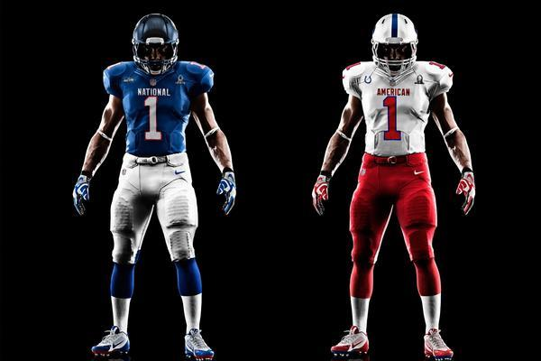 2013 Pro Bowl Uniforms: Nike Unveils NFL All-Star Game System