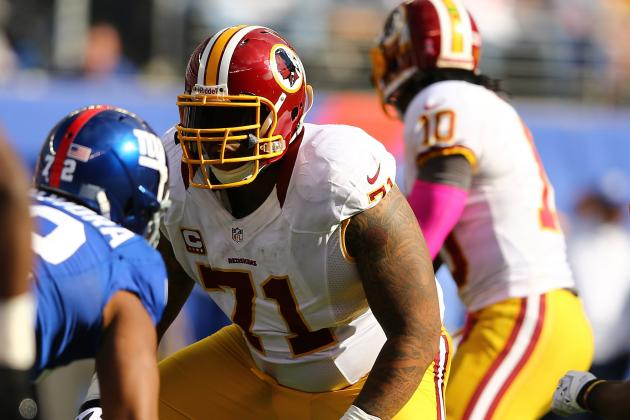 Redskins' Williams out of Pro Bowl Due to Injury