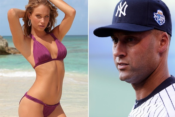 Derek Jeter's Model Girlfriend Hannah Davis Is Your DirecTV Genie