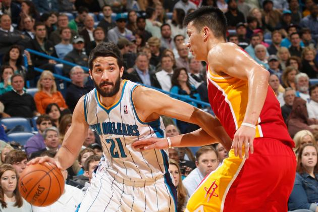 Houston Rockets vs. New Orleans Hornets: Live Score, Results and Game Highlights
