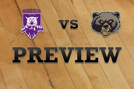 Weber State vs. Montana: Full Game Preview