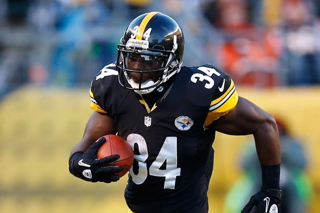 Mendenhall Not 'Shutting Any Doors' with Steelers, Claims Agent