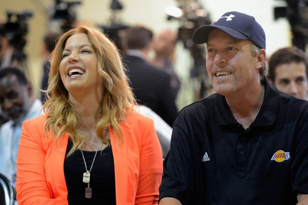 Jeanie and Jim Buss Haven't Talked Since Lakers' Phil Jackson Fiasco