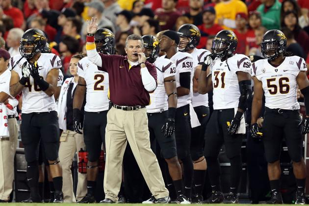 Arizona State Football: Where the Sun Devils' Recruiting Fits in the Pac-12