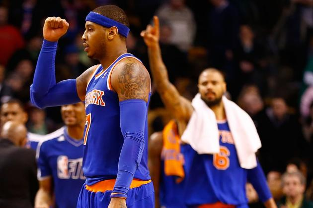 Knicks Show That They Are Tough Enough to Go into Hostile Environment and Win