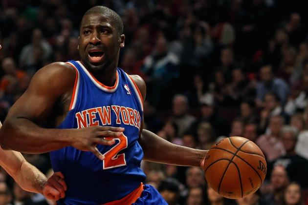 Raymond Felton Cleared for Contact, Could Play for Knicks vs. 76ers