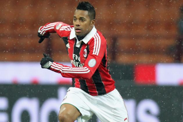 Robinho Hopes to Stay at Milan '5 or 6 More Years'