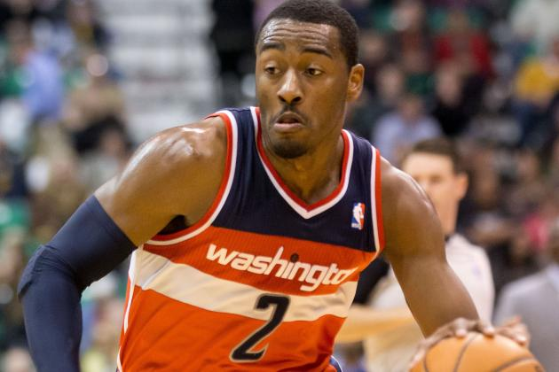 John Wall Returns to Washington Wizards' Starting Lineup