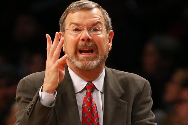Carlesimo, Unlike Avery Johnson, Isn't Sold on the Small-Ball Takeover